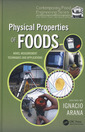 Couverture de l'ouvrage Physical properties of foods : Novel measurement techniques and application
