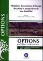 Couverture de l'ouvrage Mutations des systèmes d'élevage des ovins et perspectives de leur durabilité
