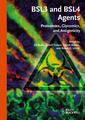 Couverture de l'ouvrage Bsl3 and bsl4 agents: proteomics, glycomics, and antigenicity (hardback)