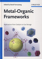 Couverture de l'ouvrage Metal-organic frameworks: applications from catalysis to gas storage