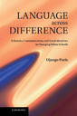 Couverture de l'ouvrage Language across difference: ethnicity, communication, and youth identities in changing urban schools
