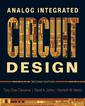 Couverture de l'ouvrage Analog integrated circuit design (paperback)