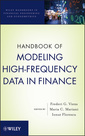 Couverture de l'ouvrage Handbook of modeling high-frequency data in finance (series: wiley handbooks in financial engineering and econometrics) (hardback)