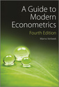 Couverture de l'ouvrage A Guide to Modern Econometrics