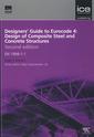 Couverture de l'ouvrage Designers' guide to Eurocode 4: Design of composite buildings - EN 1994-1-1