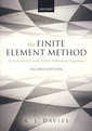 Couverture de l'ouvrage The finite element method: An introduction with partial differential equations