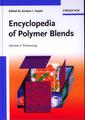 Couverture de l'ouvrage Encyclopedia of polymer blends. Volume 2 Processing