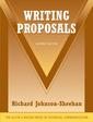 Couverture de l'ouvrage Writing proposals (2nd ed )