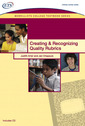 Couverture de l'ouvrage Creating and recognizing quality rubrics (1st ed )