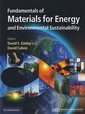 Couverture de l'ouvrage Fundamentals of materials for energy and environmental sustainability