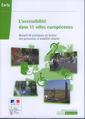 Couverture de l'ouvrage L'accessibilité dans 11 villes européennes / Accessibility practices in 11 European cities for persons of reduced mobility (Dossier Certu N° 233)