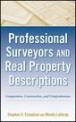 Couverture de l'ouvrage Professional surveyors and real property descriptions: composition, construction, and comprehension (hardback)