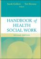 Couverture de l'ouvrage Handbook of health social work (hardback)