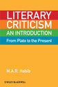 Couverture de l'ouvrage Literary criticism from plato to the present: an introduction (hardback)