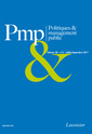 Couverture de l'ouvrage Politiques & management public Volume 28 N° 3 - Juillet-Septembre 2011
