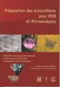 Couverture de l'ouvrage Préparation des échantillons pour MEB et microanalyses