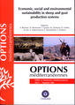 Couverture de l'ouvrage Economic, social and environmental sustainability in sheep and goat production systems (Options méditerranéennes, série A :Séminaires méditerranéens 2011 N°100)