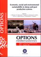 Couverture de l'ouvrage Economic, social and environmental sustainability in sheep and goat production systems (Options méditerranéennes, série A :Séminaires méditerranéens 2011 N°100)