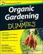 Couverture de l'ouvrage Organic gardening for dummies®, uk edition (paperback)