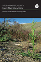 Couverture de l'ouvrage Annual plant reviews - insect-plant interactions