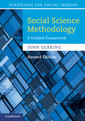 Couverture de l'ouvrage Social science methodology: a unified framework (2nd ed )