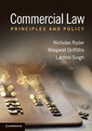 Couverture de l'ouvrage Commercial law: principles and policy