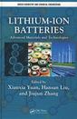 Couverture de l'ouvrage Lithium-ion batteries: Advanced materials and technologies