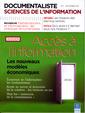 Couverture de l'ouvrage Documentaliste sciences de l'information Vol. 48. N° 3 septembre 2011 : accès à l'information - les nouveaux modèles économiques