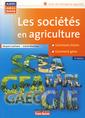 Couverture de l'ouvrage Les sociétés en agriculture