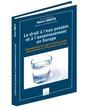 Couverture de l'ouvrage Le droit à l'eau potable et à l'assainissement en Europe