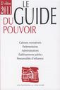 Couverture de l'ouvrage Le Guide du Pouvoir National 2011