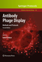 Couverture de l'ouvrage Antibody phage display: methods and protocols (paperback) previously published in hardcover (series: methods in molecular biology)