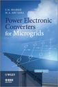 Couverture de l'ouvrage Power electronic converters for microgrids