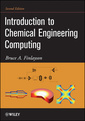 Couverture de l'ouvrage Introduction to chemical engineering computing