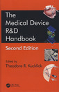 Couverture de l'ouvrage The medical device R&D handbook (2nd Ed)
