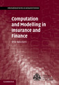 Couverture de l'ouvrage Computation and modelling in insurance and finance