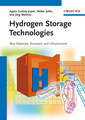 Couverture de l'ouvrage Hydrogen storage technologies: New materials, transport and infrastructure