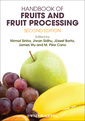 Couverture de l'ouvrage Handbook of fruits and fruit processing
