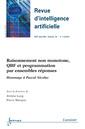 Couverture de l'ouvrage Raisonnement non monotone, QBF et programmation par ensembles réponses (Revue d'intelligence artificielle RSTI série RIA V.26 N°1-2/janvier-avril 2012)