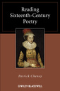 Couverture de l'ouvrage Reading sixteenth-century poetry (series: blackwell reading poetry) (hardback)