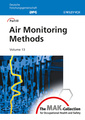 Couverture de l'ouvrage The MAK-collection for occupational health and safety: part III: Air monitoring methods, volume 13