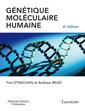 Couverture de l'ouvrage Génétique moléculaire humaine