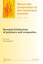 Couverture de l'ouvrage Dynamical behaviour of polymers and composites (Revue des composites et des matériaux avancés Vol.22 N° 1/JanvierAvril 2012)