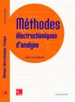 Couverture de l'ouvrage Méthodes électrochimiques d'analyse