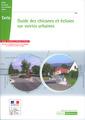 Couverture de l'ouvrage Guide des chicanes et écluses sur voiries urbaines (Coll. Référence N°119)