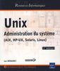 Couverture de l'ouvrage Unix