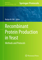 Couverture de l'ouvrage Recombinant protein production in yeast