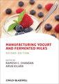 Couverture de l'ouvrage Manufacturing yogurt and fermented milks (2nd Ed.)