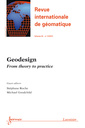 Couverture de l'ouvrage Geodesign (Revue internationale de géomatique Volume 22 N° 2/Avril-Juin 2012)