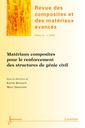 Couverture de l'ouvrage Matériaux composites pour le renforcement des structures de génie civil (Revue des composites et des matériaux avancés Vol.22 N° 2/Mai-Août 2012)